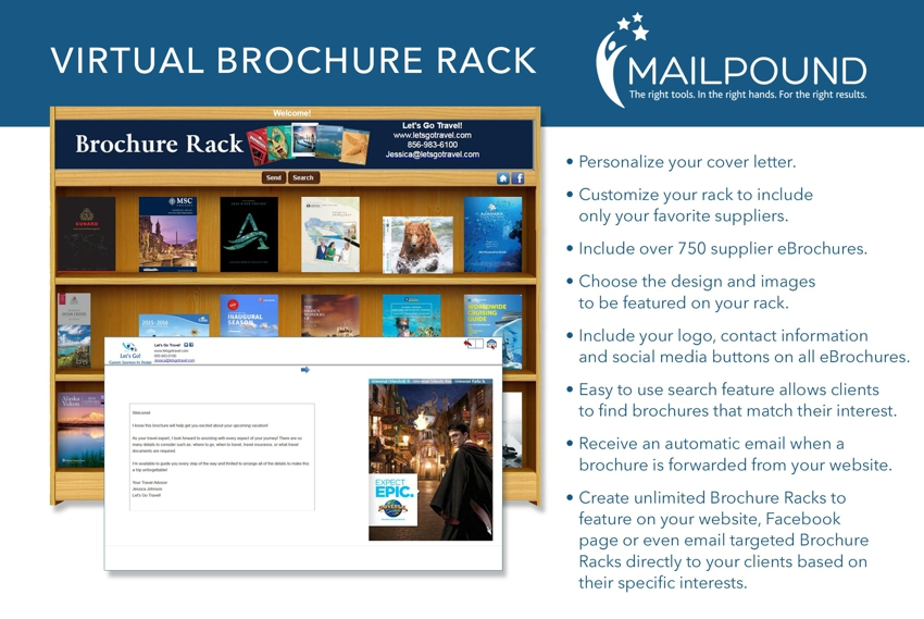 Virtual Brochure Rack